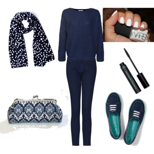 Styled with Polyvore.